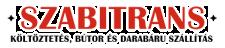 Költöztetés, bútor és darabáru szállítás – Szabitrans Logo