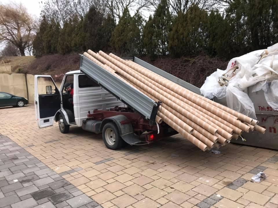 Építőanyag szállítás Keszthelyen