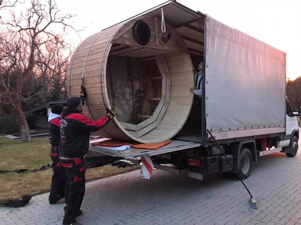 építőanyag szállítás